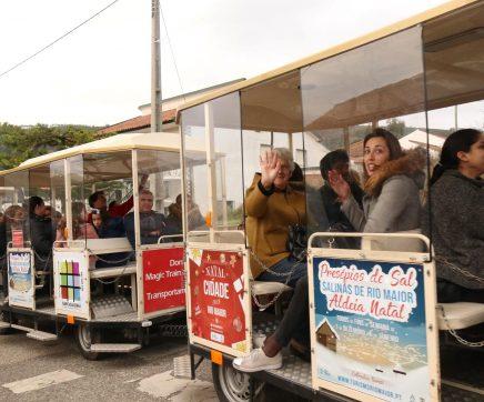 Comboio de Natal vai voltar a circular em Rio Maior