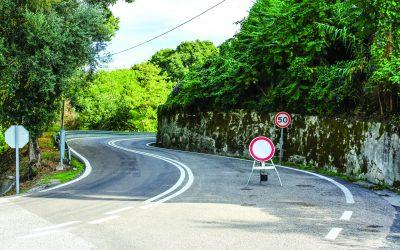 Estado avança com obras na encosta das Portas do Sol e autoriza abertura condicionada da EN 114