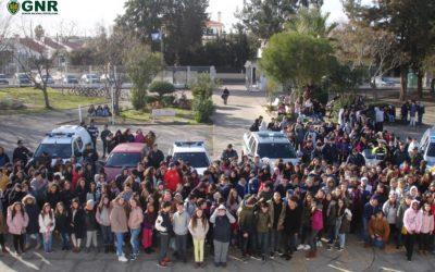 Demonstração de meios da GNR para 499 crianças