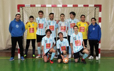 Juvenis vitorianos na final do Campeonato Distrital
