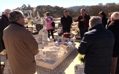 Amigos de Celestino Graça prestam homenagem nos 105 anos do seu nascimento