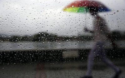 Chuva, trovoada e vento forte colocam distrito de Santarém sob aviso amarelo