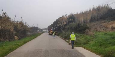 Intervenção na EM 567 – 1 ligação de São Vicente do Paúl à Comenda-Casével já começou