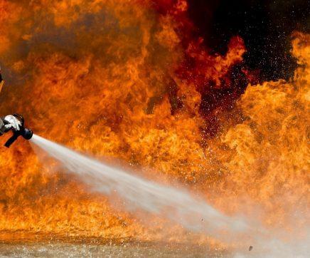 Incêndio em habitação no Casalinho