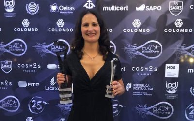Inês Henriques volta a vencer o galardão Desportista do Ano da CDP