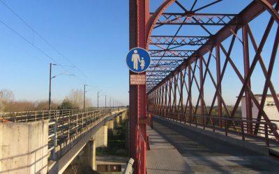 Instalação de pórtico fecha Ponte Rainha D. Amélia