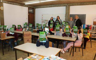Câmara de Santarém e Corticeira Amorim sensibilizam crianças para a reciclagem da Cortiça