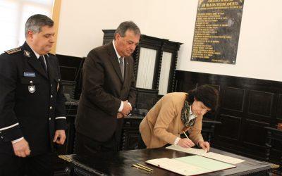 Secretária de Estado homologou Protocolo de Colaboração para a Nova Esquadra da PSP do Entroncamento