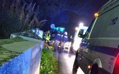 5 polícias feridos em acidente, dois deles em estado grave