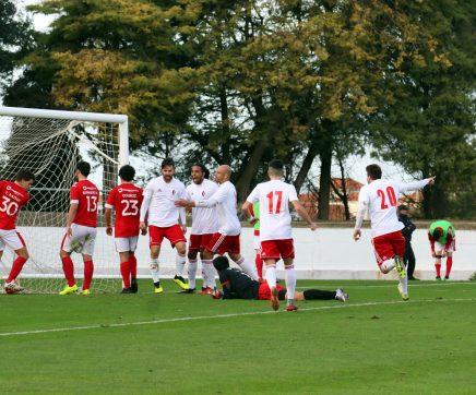 U. Santarém, Marinhais, Coruchense e Abrantes e Benfica na meia-final da Taça do Ribatejo
