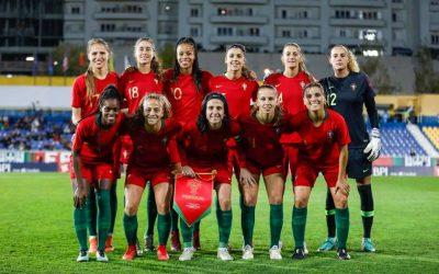 Selecção feminina de Portugal empata com Ucrânia em jogo que dominou