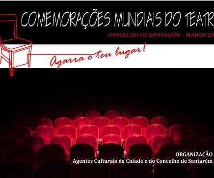 Associações e instituições de Santarém juntam-se para dedicar Março ao teatro
