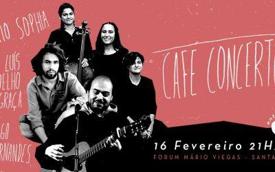 Filhos da Terra regressam a Santarém para Café Concerto no Fórum Mário Viegas