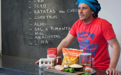 Festival do Cogumelo da Parreira com os chefes Chakall e Marco Costa