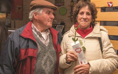 Câmara de Almeirim oferece as rosas no Dia dos Namorados