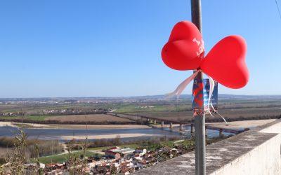 Surpresas para namorados nos miradouros da cidade no S. Valentim
