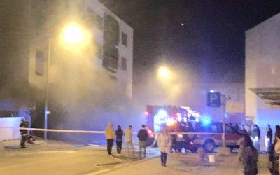 60 pessoas evacuadas devido a incêndio na cave de prédio em Ourém