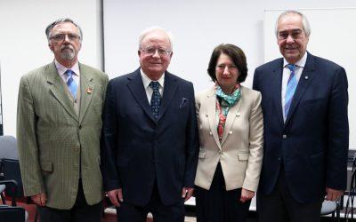 Rotary Club de Santarém presta homenagem a Adélia Esteves e a Jorge Justino (C/Vídeo)