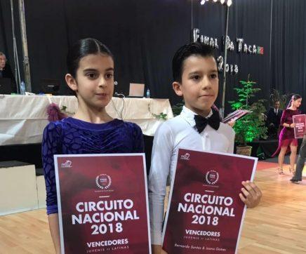 Associação de Dança Desportiva de Tremez brilha no Campeonato Nacional