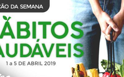 3ª edição da Semana dos Hábitos Saudáveis entre 1 e 5 de Abril em Santarém
