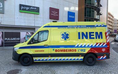 Bombeiros Municipais de Santarém com nova ambulância de socorro