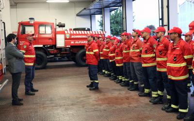 Bombeiros Municipais de Alpiarça comemoram 70 anos