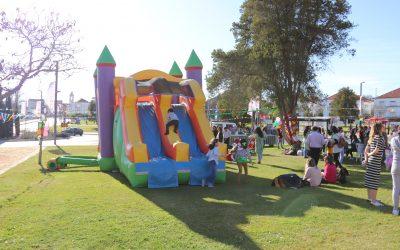 Carnaval das Famílias com muita animação no Jardim de São Bento
