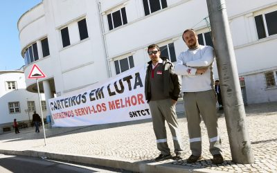 Carteiros de Santarém prolongam greve parcial até 12 de Abril