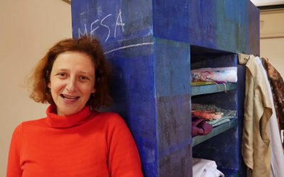 Espectáculo performance de Catarina Requeijo no Centro Cultural