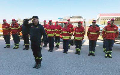 Contingente de Bombeiros do distrito de Santarém parte para Moçambique