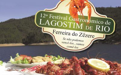 Ferreira do Zêzere recebe o 12º festival gastronómico do lagostim de rio