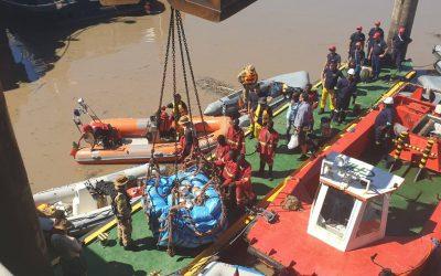 Bombeiros do distrito de Santarém regressam de missão em Moçambique
