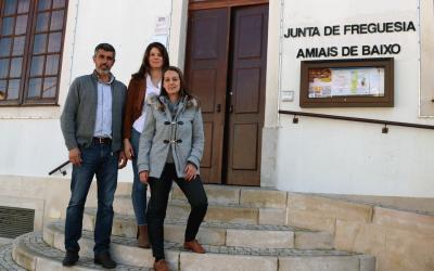 Amiais de Baixo recebe investimento de mais de 94 mil euros para estradas e infra-estruturas