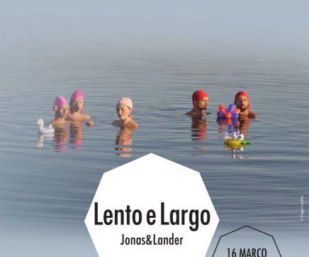 Jonas&Lander trazem Lento e Largo ao Teatro Virgínia