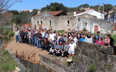 População da Abrã reabilita Ribeira do Canal