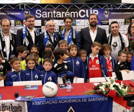 VÍDEO | Rui Costa apadrinha 900 atletas do Santarém Cup
