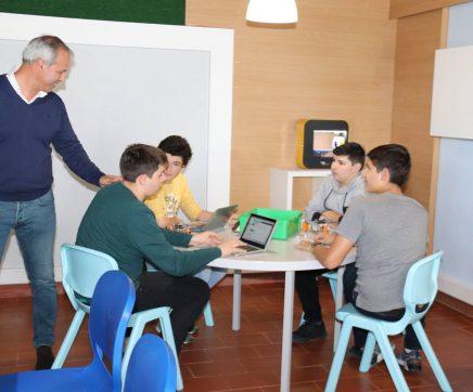 Projecto educativo da Lezíria inaugura primeira Sala do Futuro