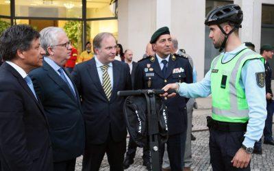 GNR de Almeirim tem a primeira 'segway' de patrulhamento do país