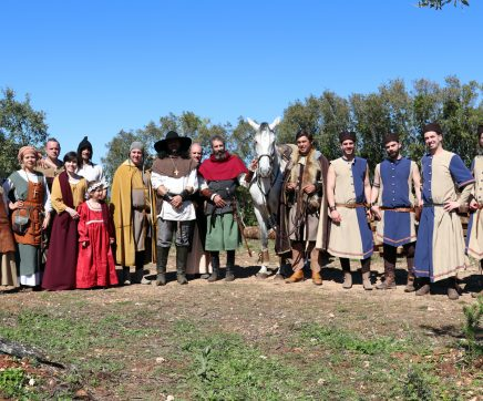 Sítio Medieval recria acampamento de D. Afonso Henriques em Pernes (C/VÍDEO)
