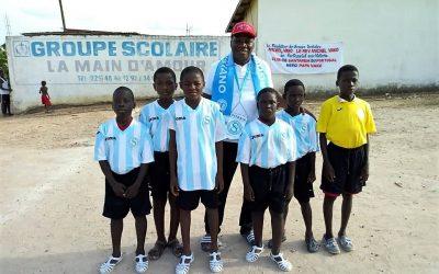 Vitória de Santarém desenvolve modalidade de Futsal na Costa do Marfim