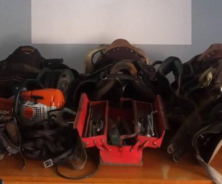 GNR recupera material furtado em propriedade agrícola