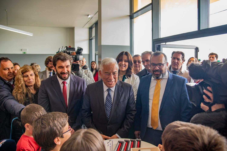António Costa inaugura novo centro escolar da Chamusca