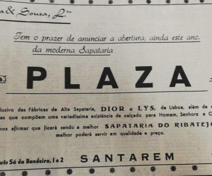 Memórias da Cidade: Sapataria Plaza