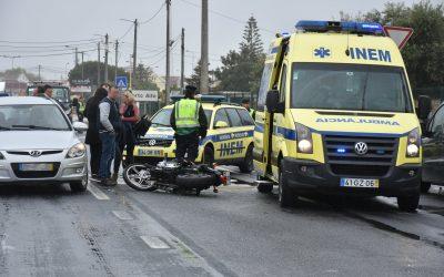 Acidente com moto provoca ferimentos graves a empresário