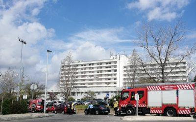 Atropelamento junto ao Hospital de Santarém provoca um ferido