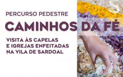 """Passeio Pedestre """"Caminhos da Fé"""" na Semana Santa de Sardoal"""