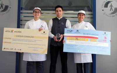 """Alunos da EPVT vencem Final Nacional do Concurso """"Sabores e Aromas das Viagens Magalhânicas"""""""