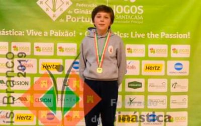 Atleta do Cartaxo sagra-se Campeão Nacional de Tumbling