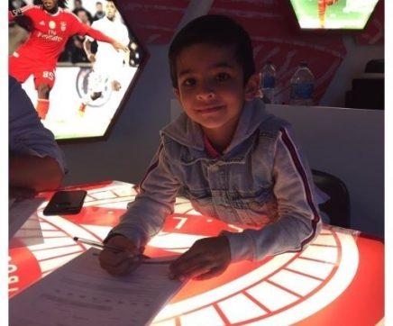 Benfica contrata jogador de apenas seis anos à Académica de Santarém