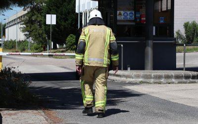 VÍDEO | Incêndio na fábrica da Unicer mobiliza duas dezenas de bombeiros